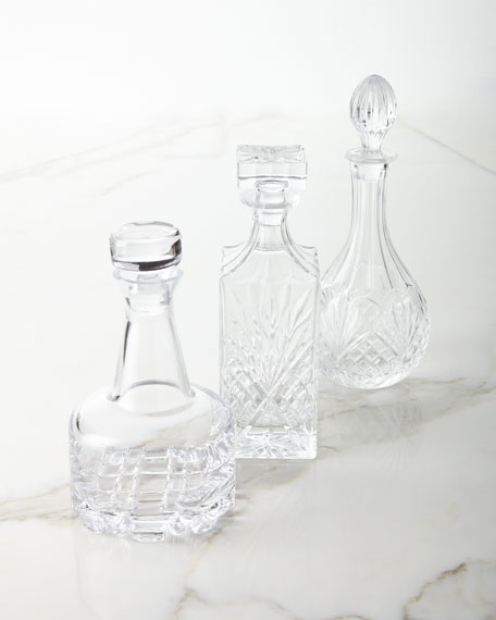 Godinger Decanters, Set of 3