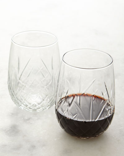 Dublin Stemless Wine Glasses  Set of 8