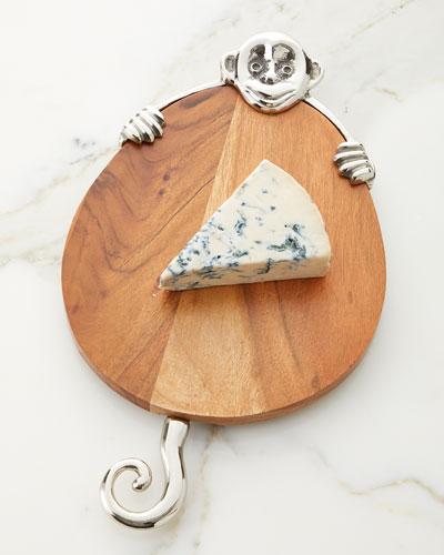 Monkey Cheese Board