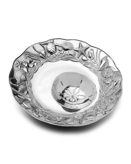 Neiman Marcus Coastal 2-Piece Chip & Dip Server