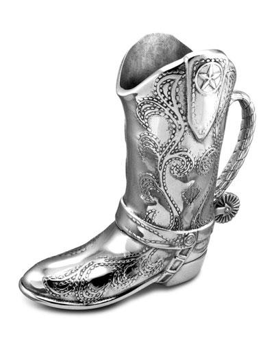 Cowboy Boot Pitcher