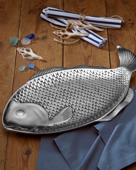 Sea Life Large Fish Tray