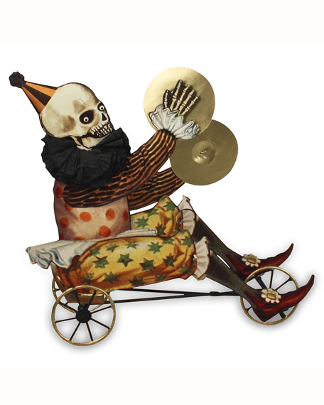 Circus Skelly on Tricycle