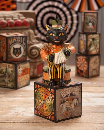 Musical Halloween Cat  7