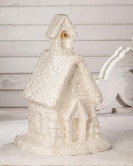 Snowy Church Collectible