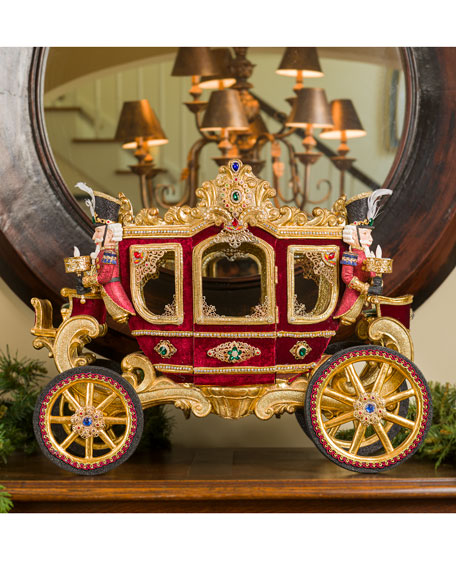 Katherine's Collection Gifts of Christmas Carriage