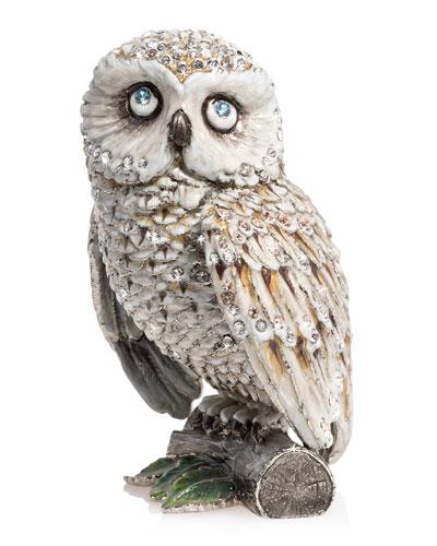 5 Snow Owl Figurine