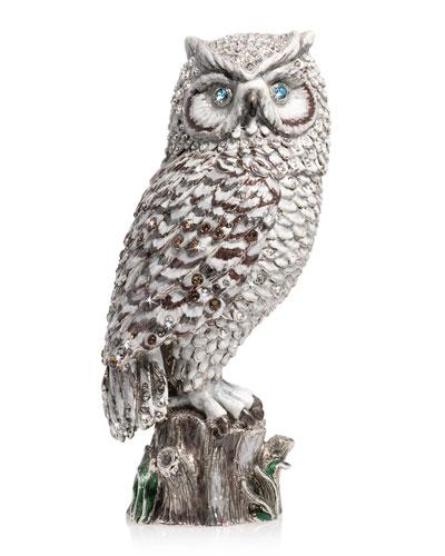 7 Snow Owl Figurine