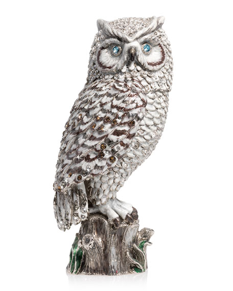 "7"" Snow Owl Figurine"