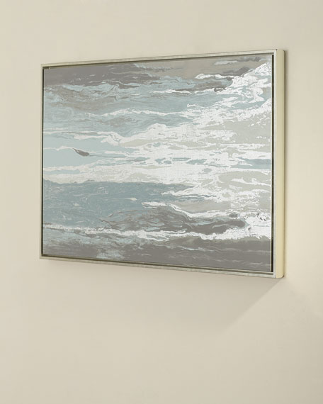 """Silver Waterfall"" Giclee Art"