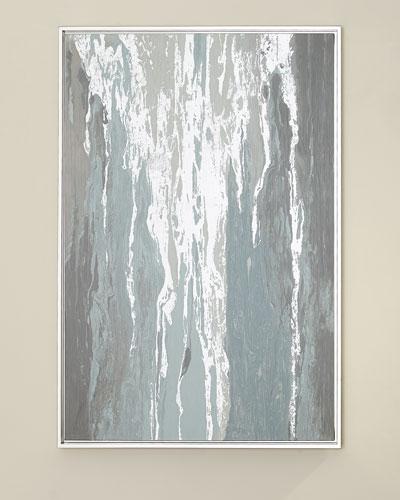 Silver Waterfall Giclee Art
