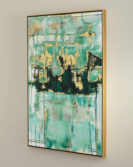 'Velvet Green' Wall Art
