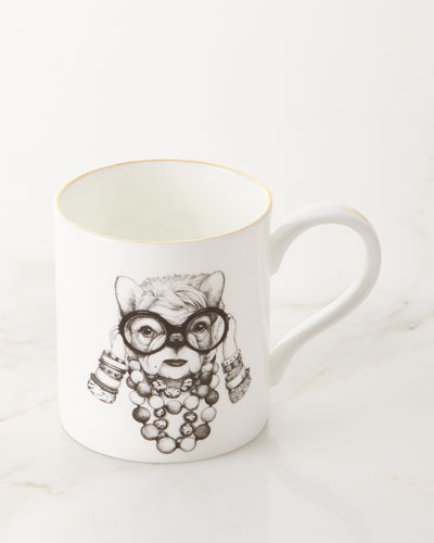 Fashion Icon Frenchie Majestic Mug