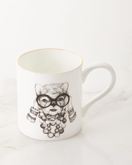 Rory Dobner Fashion Icon Frenchie Majestic Mug