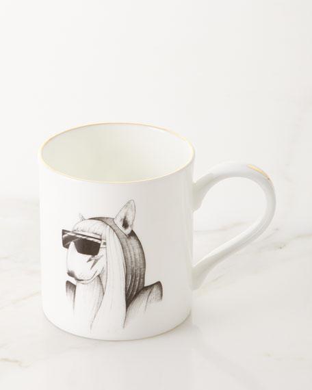 Fashion Icon Bull Terrier Majestic Mug
