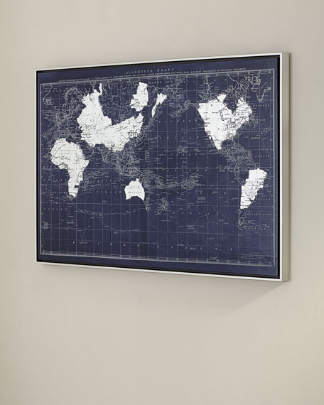 """One World"" Giclee Art"