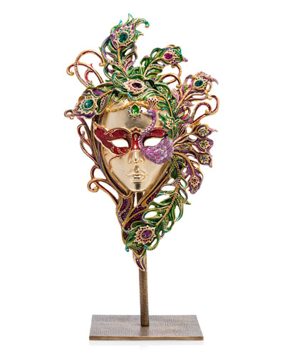 Venetian Mask with Stand