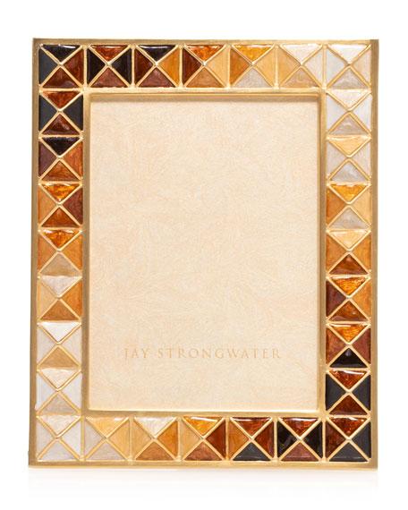 Jay Strongwater Topaz Pyramid Frame, 3