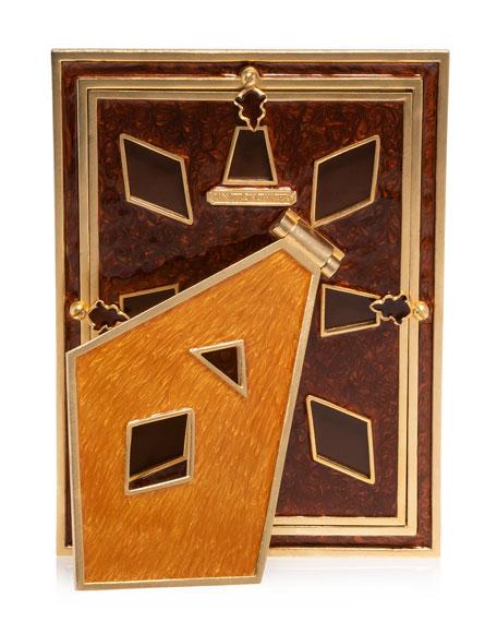 """Topaz Pyramid Frame, 5"""" x 7"""""""