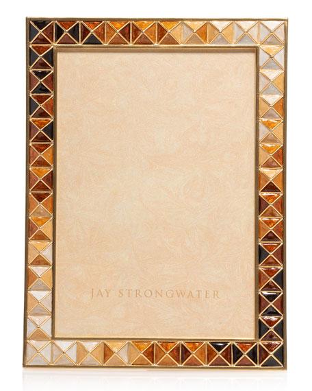 Jay Strongwater Topaz Pyramid Frame, 5