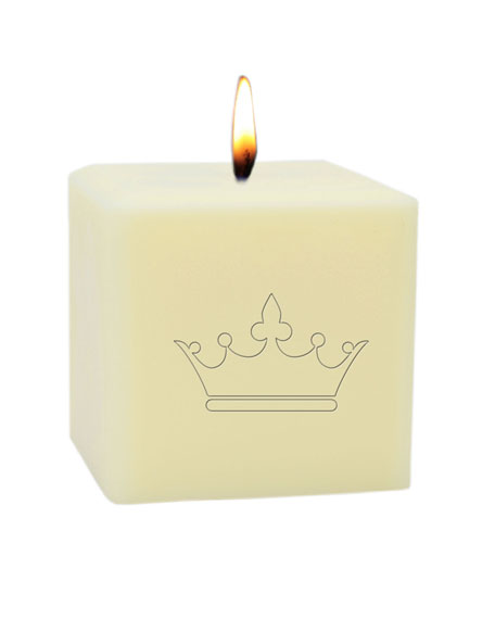 "3"" Eco-Luxury Crown Soy Candle"