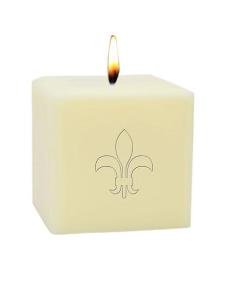 """3"""" Eco-Luxury Fleur de Lys Soy Candle"""