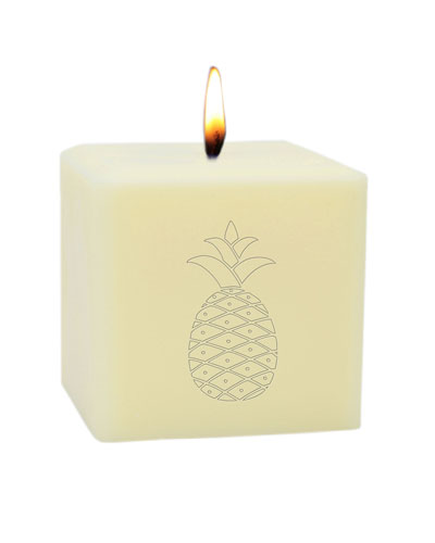 3 Eco-Luxury Pineapple Soy Candle