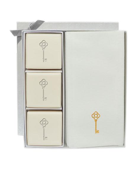 Eco-Luxury Antique Key Courtesy Gift Set