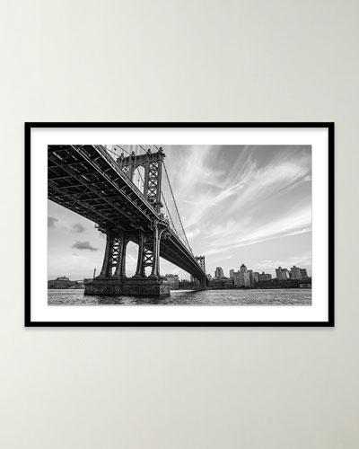 Manhattan Bridge Giclee Art by Alex Iby