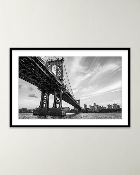 """""""Manhattan Bridge"""" Giclee Art by Alex Iby"""
