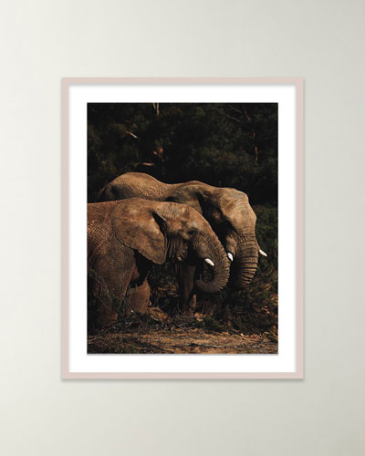 Safari Elephants I Giclee Art by Isabella Juskova