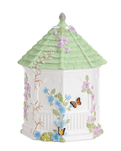 Butterfly Meadow Gazebo Cookie Jar