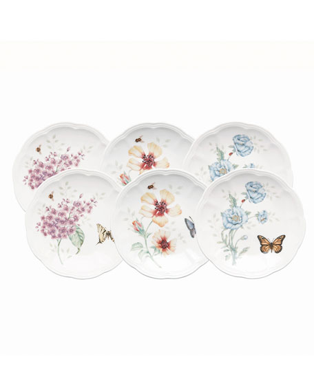 Butterfly Meadow Party Plates, Set of 6