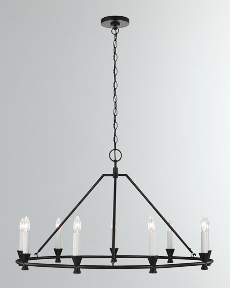 Keystone 9-Light Chandelier