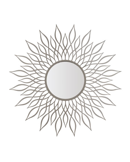 Calista Metal Sunburst Mirror