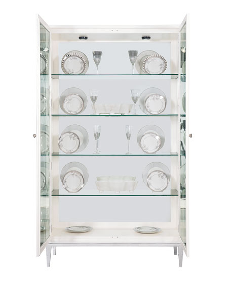 Calista Tall Curio Cabinet