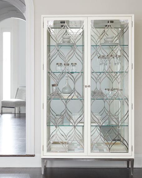 Bernhardt Calista Tall Curio Cabinet