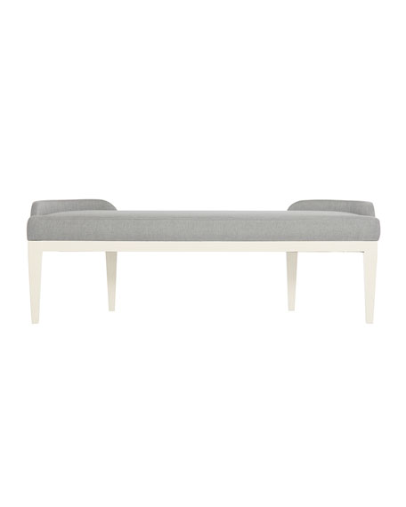 Calista Upholstered Curved Bench