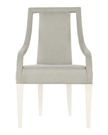 Calista Cutout Upholstered Arm Chair