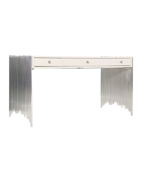 Calista Modern Metal Desk