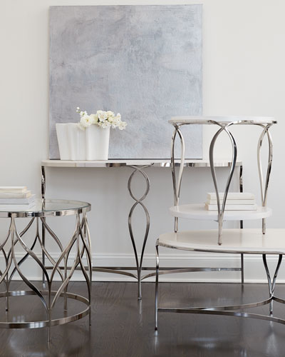 Calista Demilune Console Table