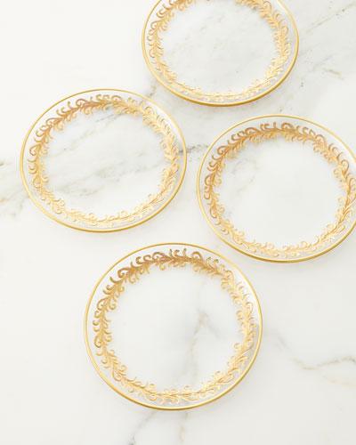 Oro Bello Bread Plates  Set of 4