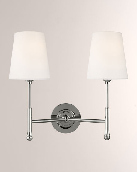 Capri 2-Light Wall Sconce