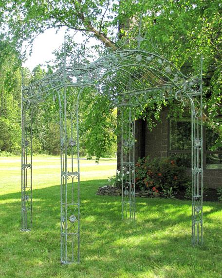Mahekal Square Iron Garden Gazebo