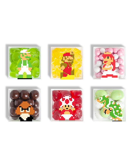 Nintendo Character 6-Piece Cube Bundle