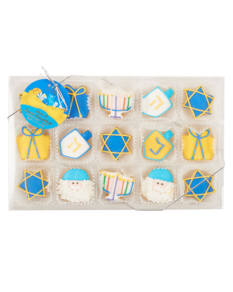 15-Piece Hanukkah 2019 Petite Cookies