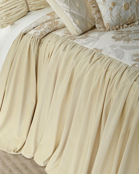Dian Austin Couture Home Deluxe Damask King Coverlet