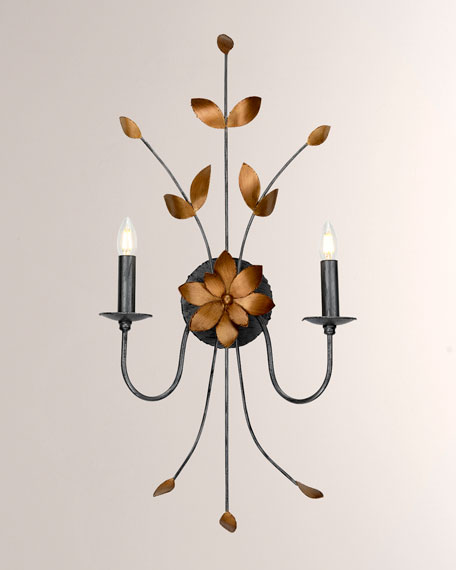 Lucas + McKearn Simone 2-Light Sconce