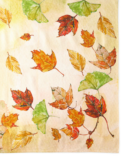 April Cornell Autumn Leaves Tablecloth - 60