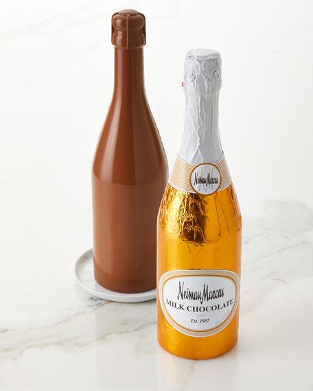 Milk Chocolate Champagne Bottle, 300g
